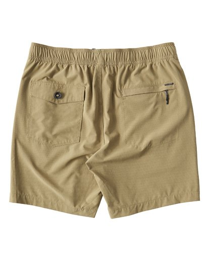 1 Surftrek Perf Elastic Shorts Brown M219VBSP Billabong