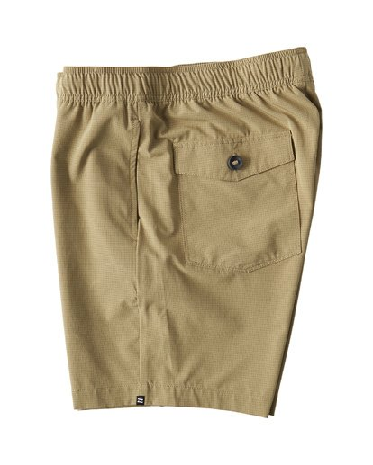 2 Surftrek Perf Elastic Shorts Brown M219VBSP Billabong