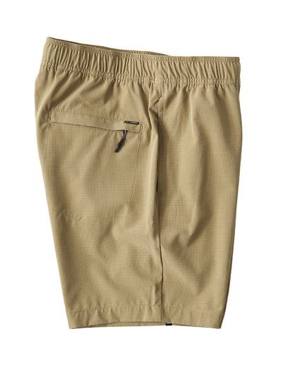 3 Surftrek Perf Elastic Shorts Brown M219VBSP Billabong