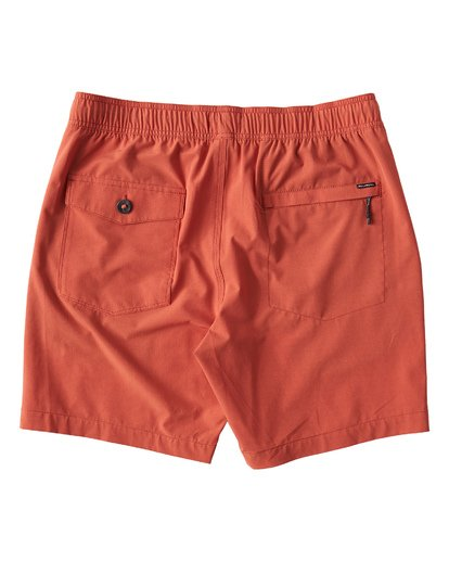 1 Surftrek Perf Elastic Shorts Red M219VBSP Billabong