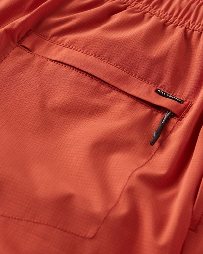 6 Surftrek Perf Elastic Shorts Red M219VBSP Billabong