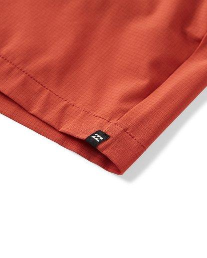 7 Surftrek Perf Elastic Shorts Red M219VBSP Billabong