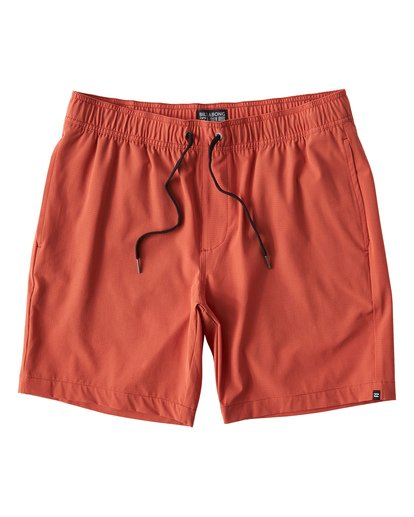 0 Surftrek Perf Elastic Shorts Brown M219VBSP Billabong