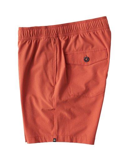 2 Surftrek Perf Elastic Shorts Brown M219VBSP Billabong