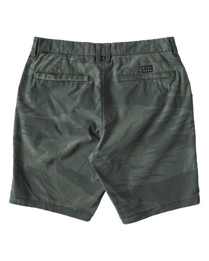 1 New Order X Overdye Sundays Shorts Green M220VBNP Billabong