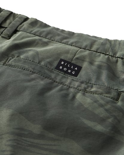 5 New Order X Overdye Sundays Shorts Green M220VBNP Billabong
