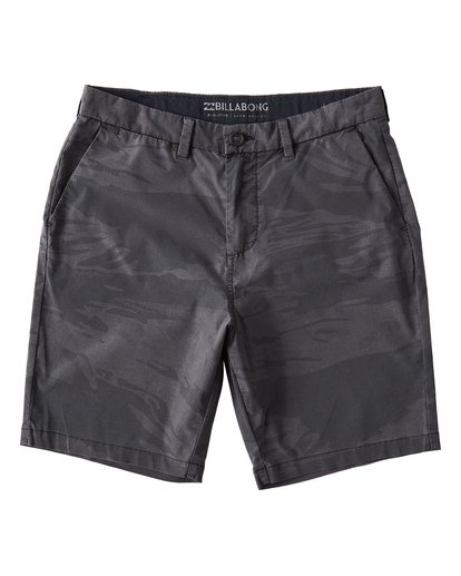 0 New Order X Overdye Sundays Shorts Black M220VBNP Billabong