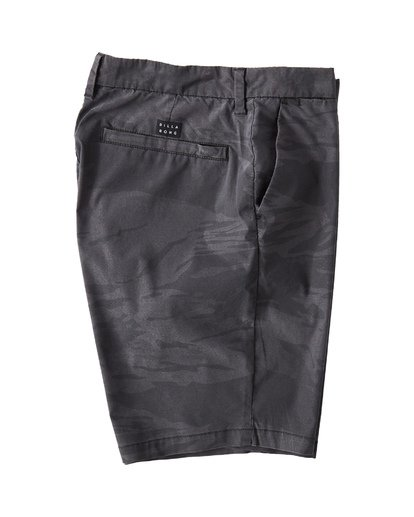 3 New Order X Overdye Sundays Shorts Black M220VBNP Billabong
