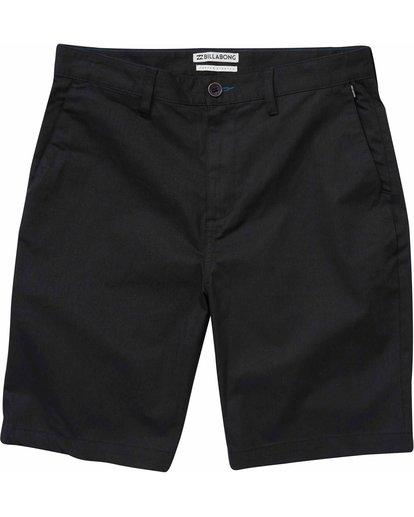 0 Carter Stretch Shorts Black M231NBCS Billabong
