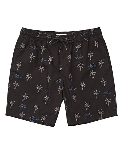 0 Larry Layback Sunday Boardshorts Black M231TBLS Billabong