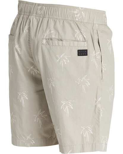 3 Larry Layback Sunday Boardshorts Beige M231TBLS Billabong