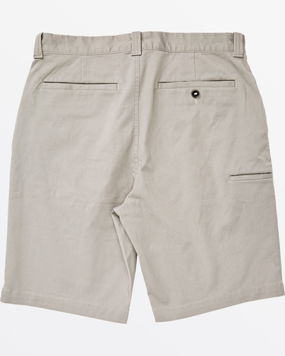 "5 Carter Stretch Short 21"" Grey M2361BCS Billabong"