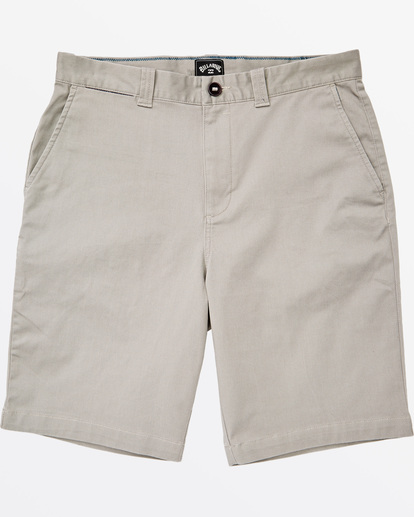 "3 Carter Stretch Short 21"" Grey M2361BCS Billabong"