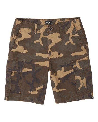 4 Scheme Cargo Shorts Green M2361BSC Billabong