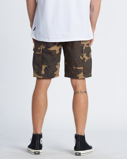 3 Scheme Cargo Shorts Green M2361BSC Billabong