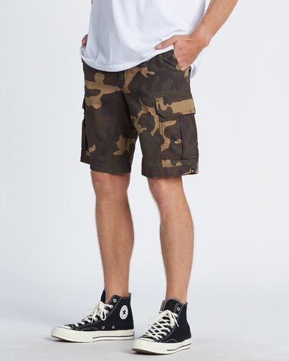 1 Scheme Cargo Shorts Green M2361BSC Billabong