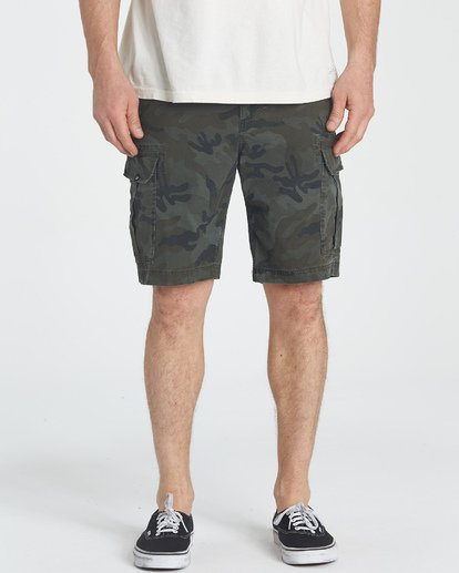 4 Scheme Shorts Green M236NBSC Billabong