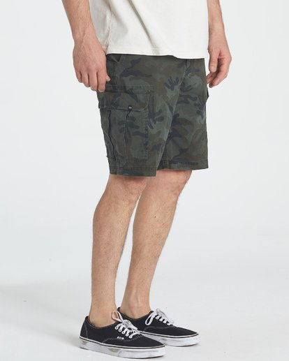 6 Scheme Shorts Green M236NBSC Billabong