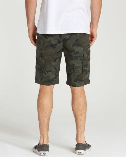9 Scheme Shorts Green M236NBSC Billabong