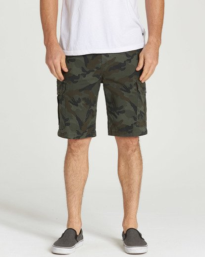 8 Scheme Shorts Green M236NBSC Billabong