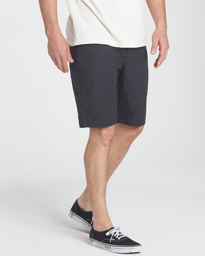 6 Carter Stretch Shorts Black M236TBCS Billabong