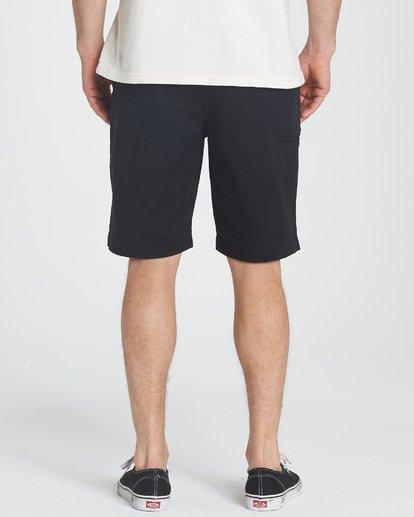 7 Carter Stretch Shorts Black M236TBCS Billabong