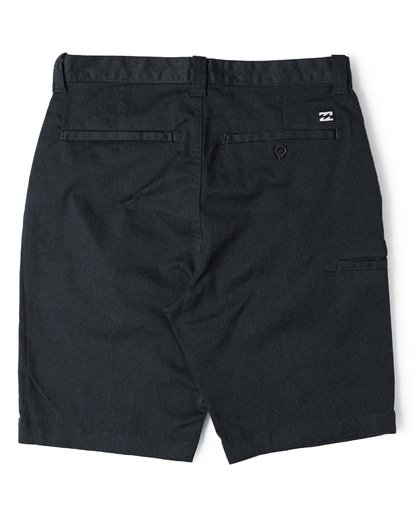 4 Carter Stretch Shorts Black M236VBCS Billabong