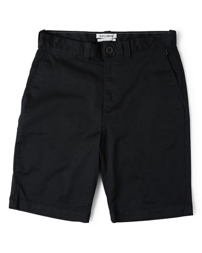 3 Carter Stretch Shorts Black M236VBCS Billabong