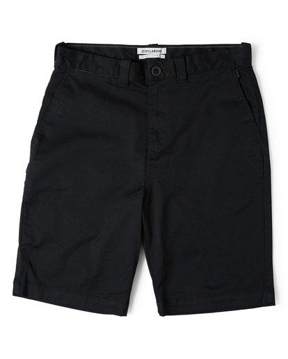 3 Carter Stretch Shorts Black M236VBCS Billabong