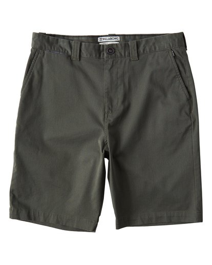 0 Carter Stretch Shorts Green M236VBCS Billabong