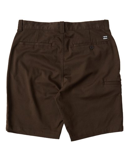 1 Carter Stretch Shorts Brown M236VBCS Billabong