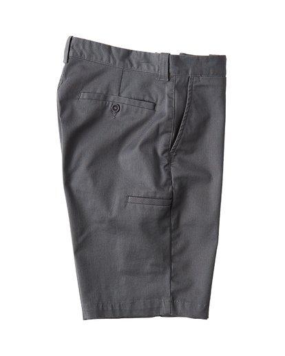 3 Carter Stretch Shorts Grey M236VBCS Billabong