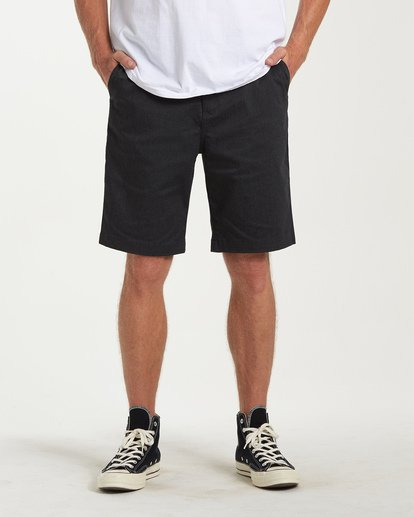 0 Carter Stretch Shorts Black M236VBCS Billabong