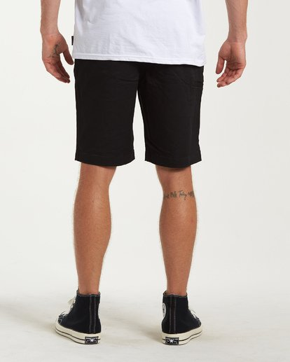 2 Carter Stretch Shorts Black M236VBCS Billabong