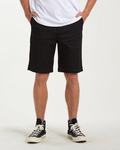 0 Carter Stretch Shorts Black M236VBCS Billabong