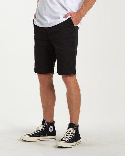 1 Carter Stretch Shorts Black M236VBCS Billabong