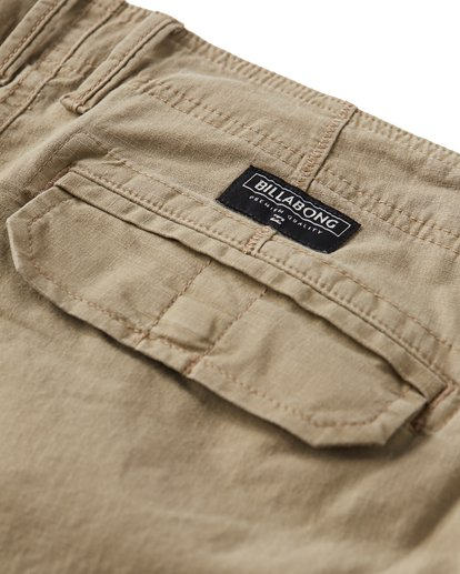 4 Scheme Cargo Walkshorts Green M236VBSC Billabong