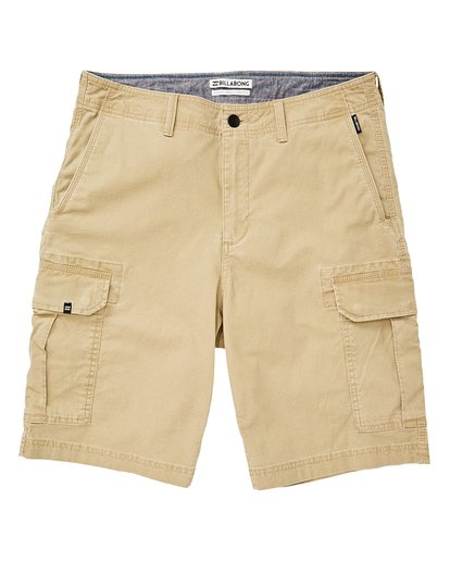 0 Scheme Cargo Walkshorts Green M236VBSC Billabong