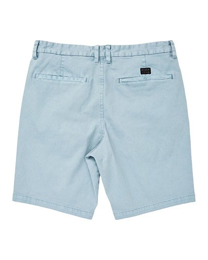 1 New Order Wave Wash Shorts Blue M237TBNE Billabong