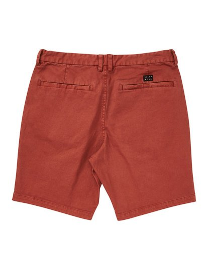 1 New Order Wave Wash Shorts Red M237TBNE Billabong
