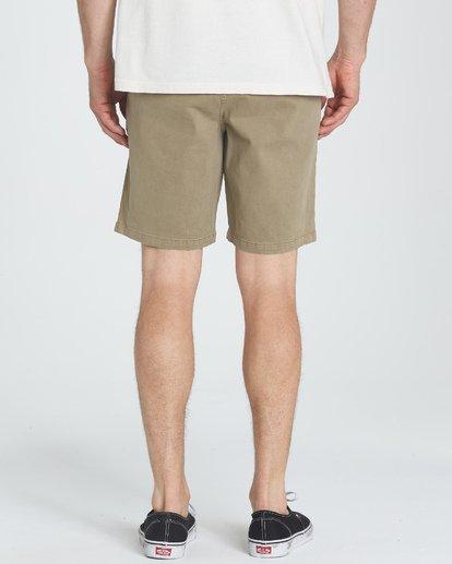 7 New Order Wave Wash Shorts Grey M237TBNE Billabong