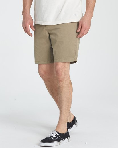 5 New Order Wave Wash Shorts Grey M237TBNE Billabong