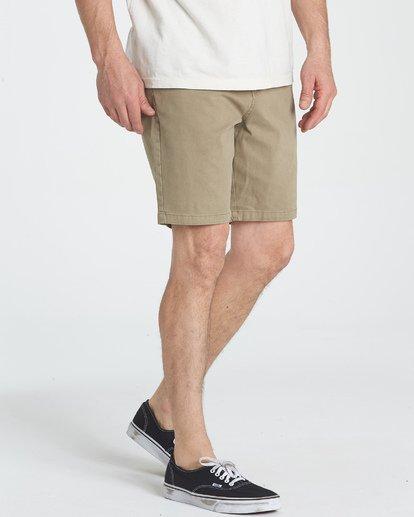 6 New Order Wave Wash Shorts Grey M237TBNE Billabong