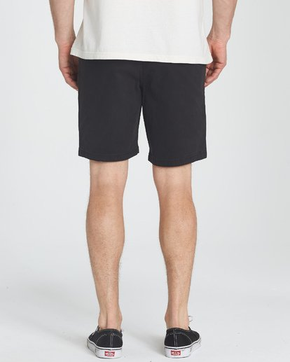 7 New Order Wave Wash Shorts Black M237TBNE Billabong
