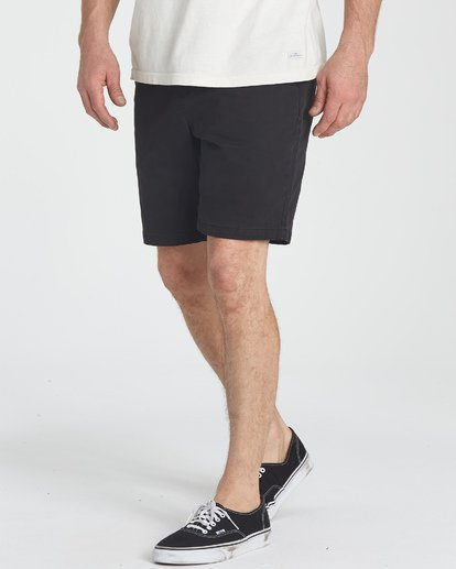 5 New Order Wave Wash Shorts Black M237TBNE Billabong