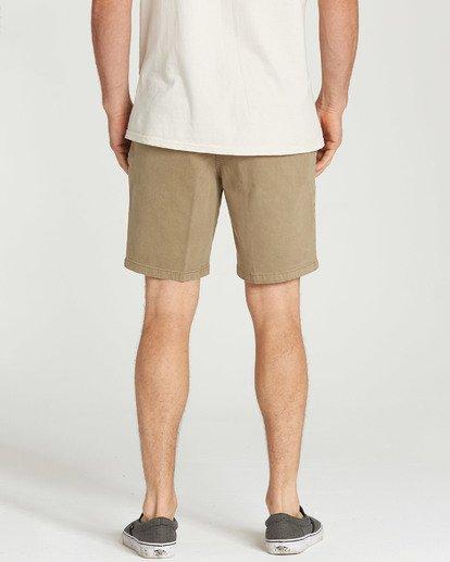 9 New Order Wave Wash Shorts Grey M237TBNE Billabong