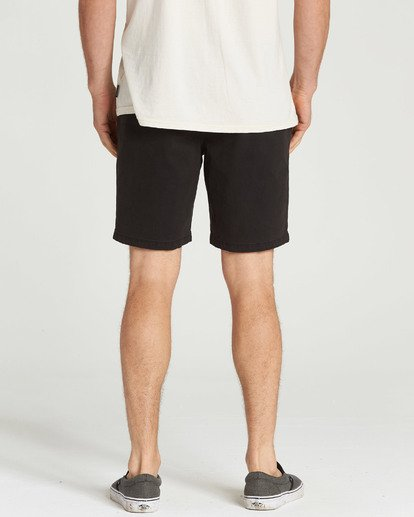9 New Order Wave Wash Shorts Black M237TBNE Billabong