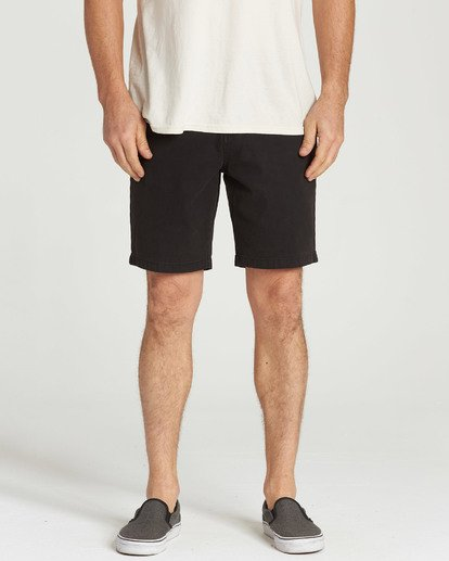 8 New Order Wave Wash Shorts Black M237TBNE Billabong