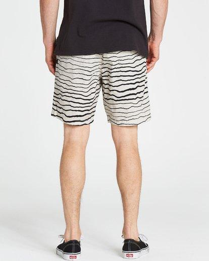 4 Larry Layback Sunday Shorts Grey M239NBLS Billabong