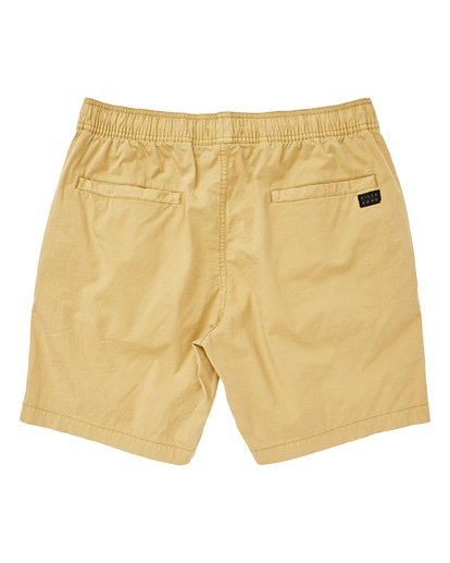 1 Larry Layback Walkshorts Yellow M239TBLL Billabong